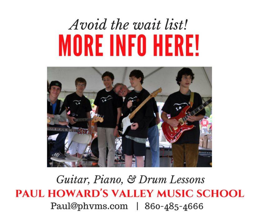 Guitar, piano, drum lessons