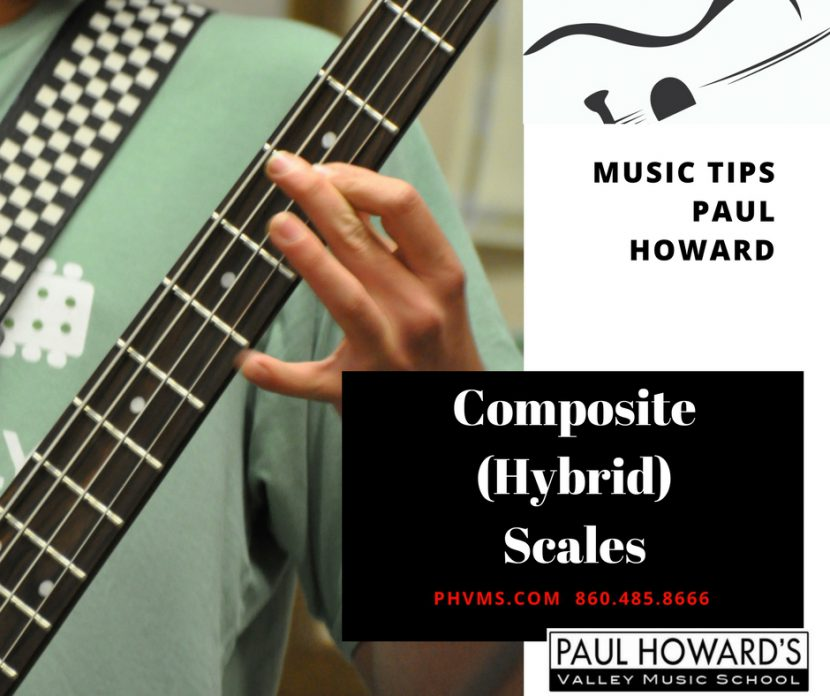 Composite Scales Paul Howard, pentatonic scales, music tips