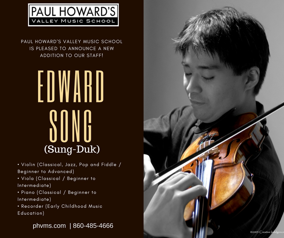 Edward Song Violin Teacher