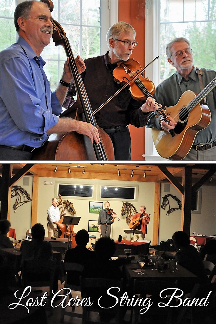 Lost Acres String Band at Lost Acres Vineyard, Granby CT